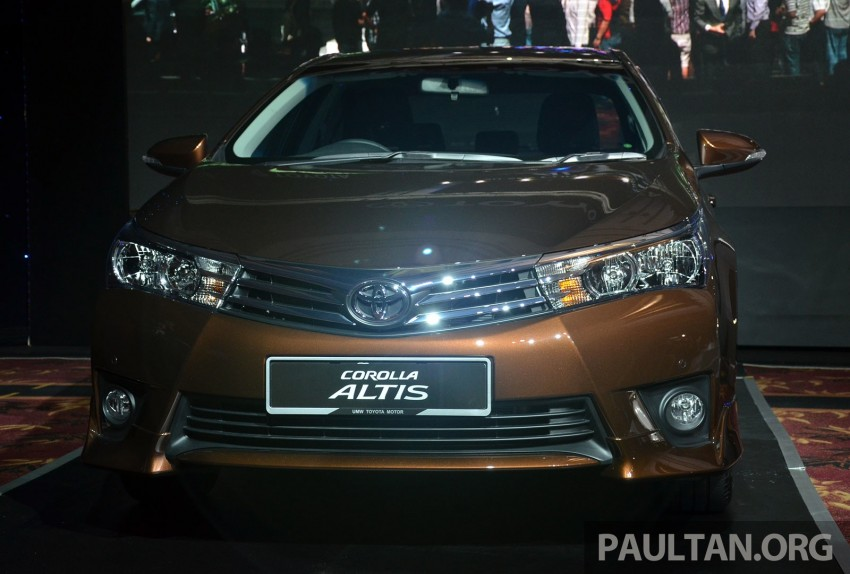 2014 Toyota Corolla Altis officially launched Image #223105