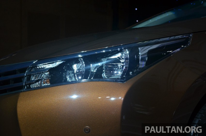 2014 Toyota Corolla Altis officially launched Image #223107