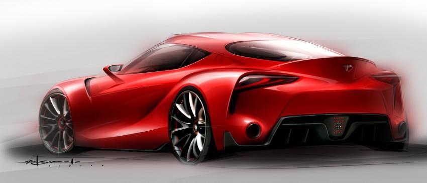 Toyota FT-1 concept shocks Detroit – the next Supra? Image #222008