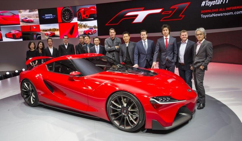 Toyota FT-1 concept shocks Detroit – the next Supra? Image #222014