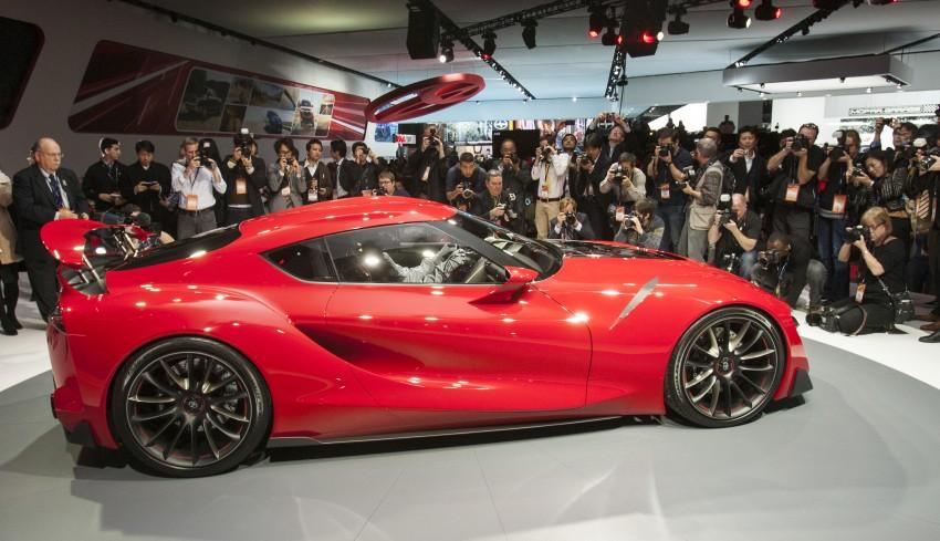 Toyota FT-1 concept shocks Detroit – the next Supra? Image #222020