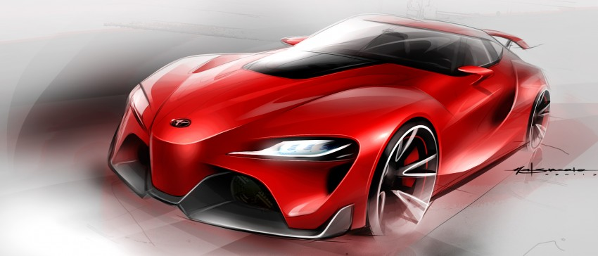 Toyota FT-1 concept shocks Detroit – the next Supra? Image #222007