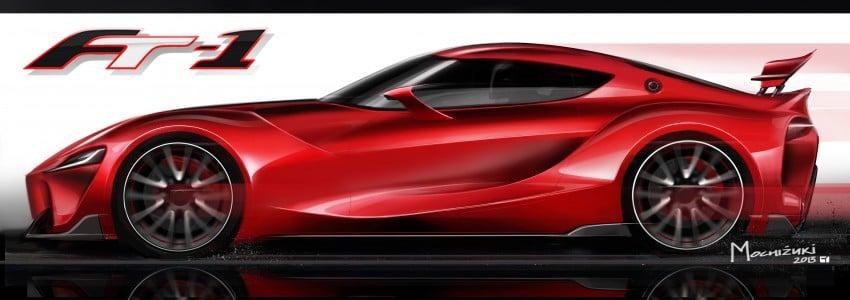 Toyota FT-1 concept shocks Detroit – the next Supra? Image #222013