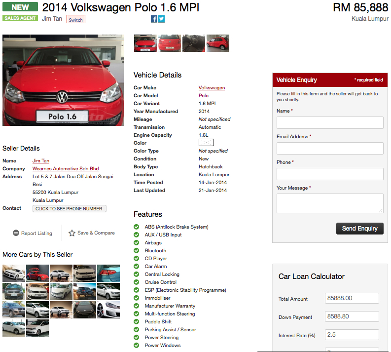 VW Polo Hatchback CKD appears on oto.my – RM86k Image #223653