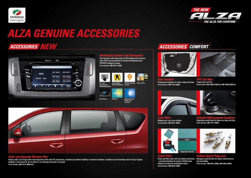 Perodua Alza facelift officially revealed, from RM52,400 Image #221539