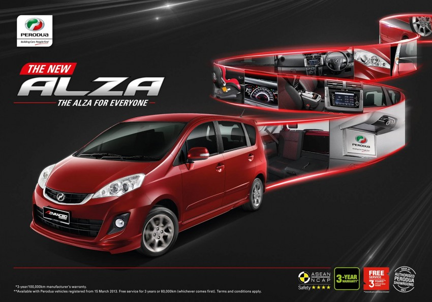 Perodua Alza facelift officially revealed, from RM52,400 Image #221546