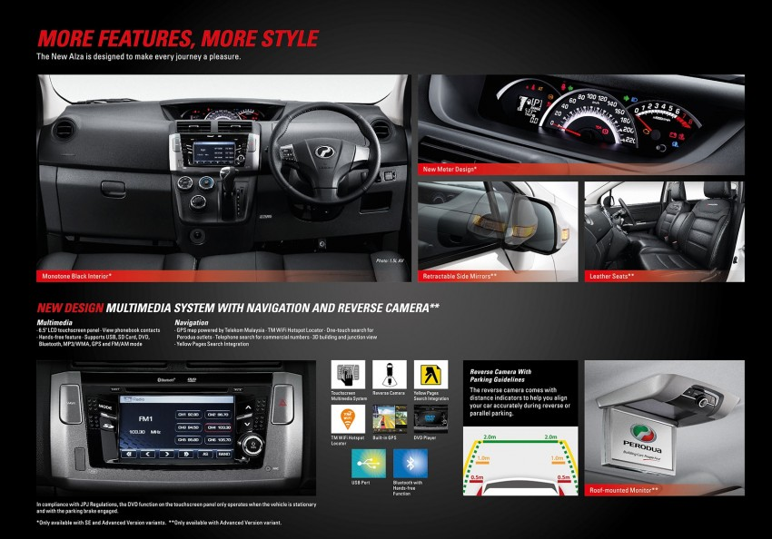 Perodua Alza facelift officially revealed, from RM52,400 Image #221544