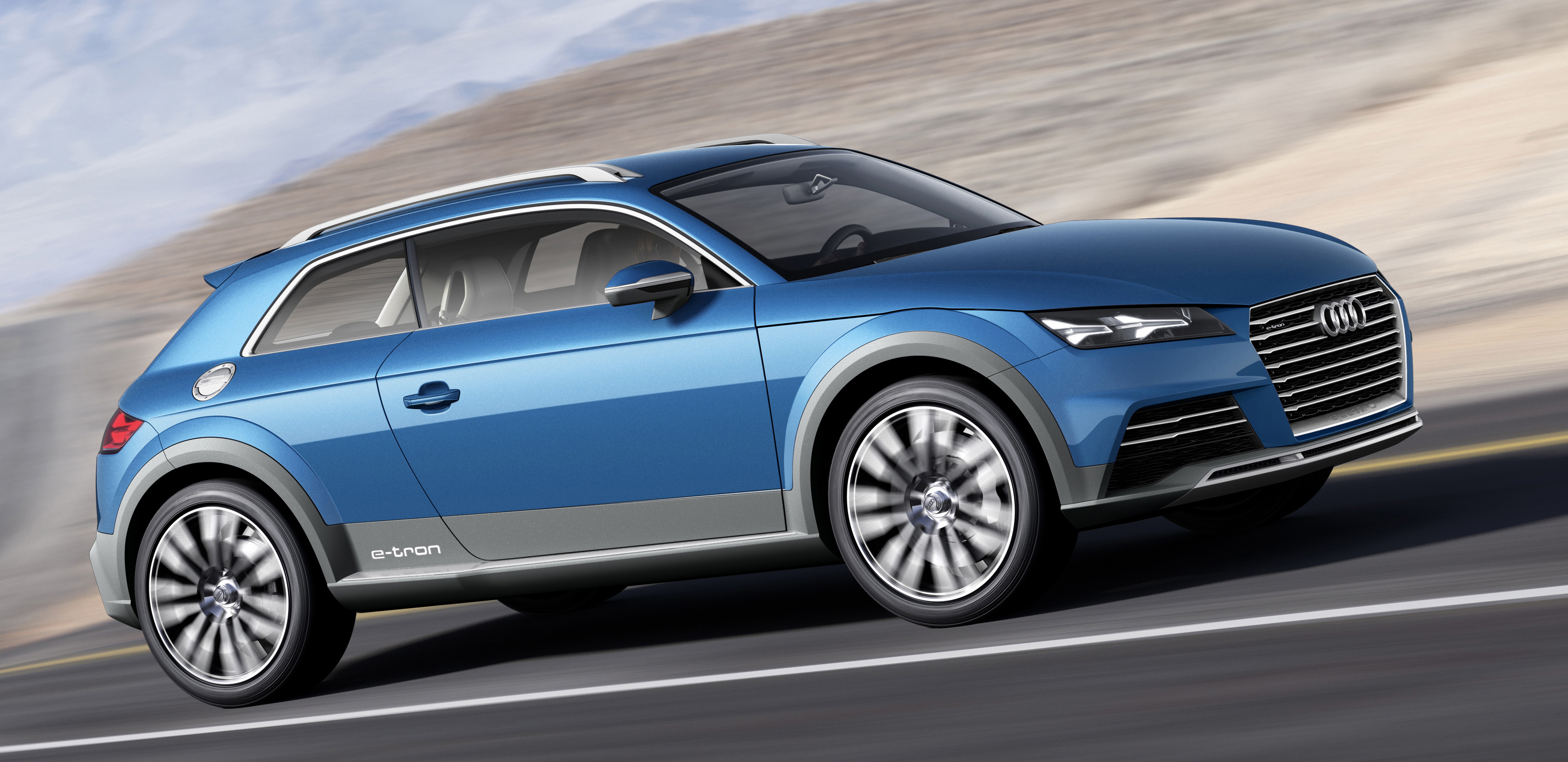 Next Generation Audi Tt Previewed As Audi Allroad Shooting
