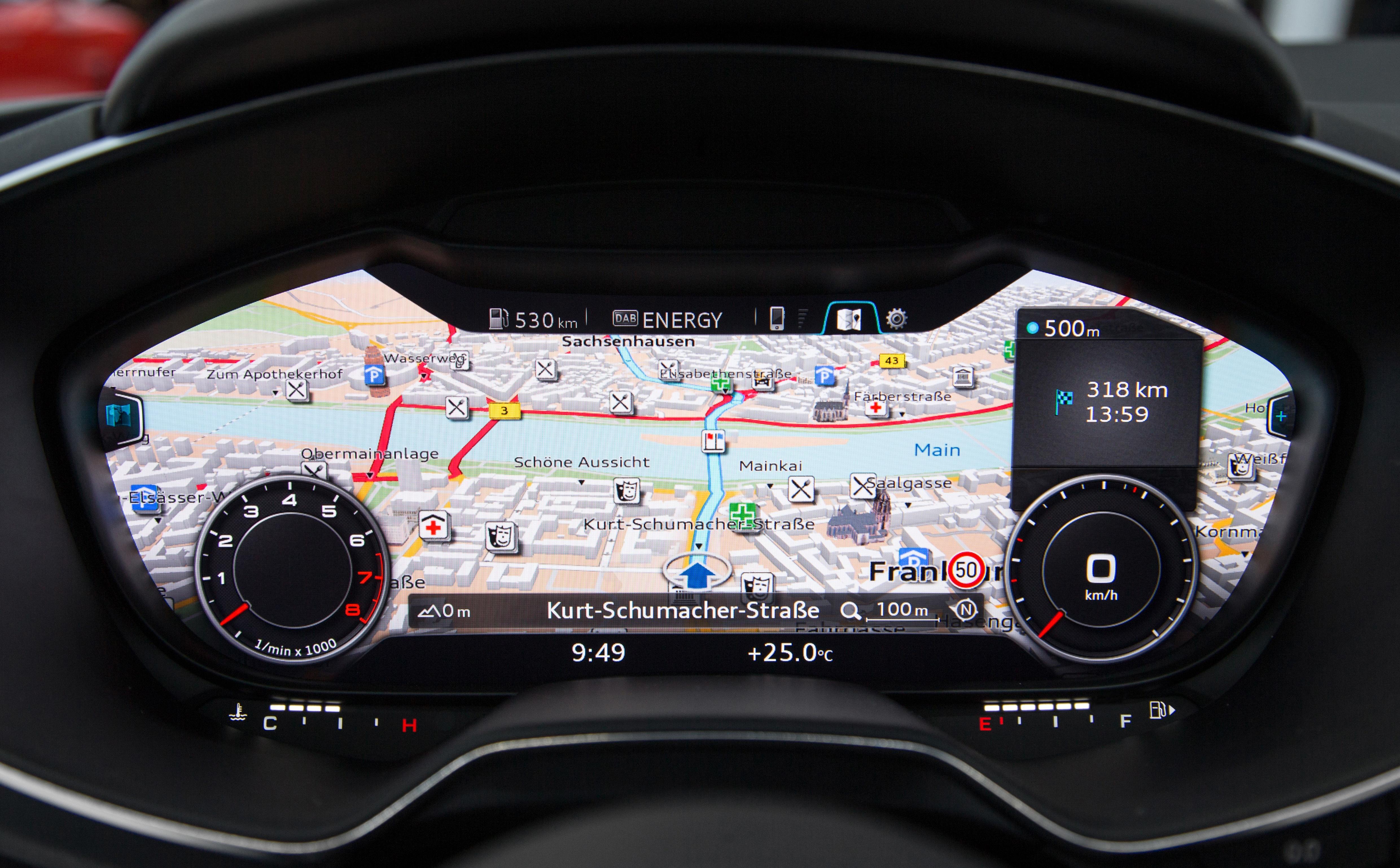 2015 Audi Tt Third Generation S Interior Revealed