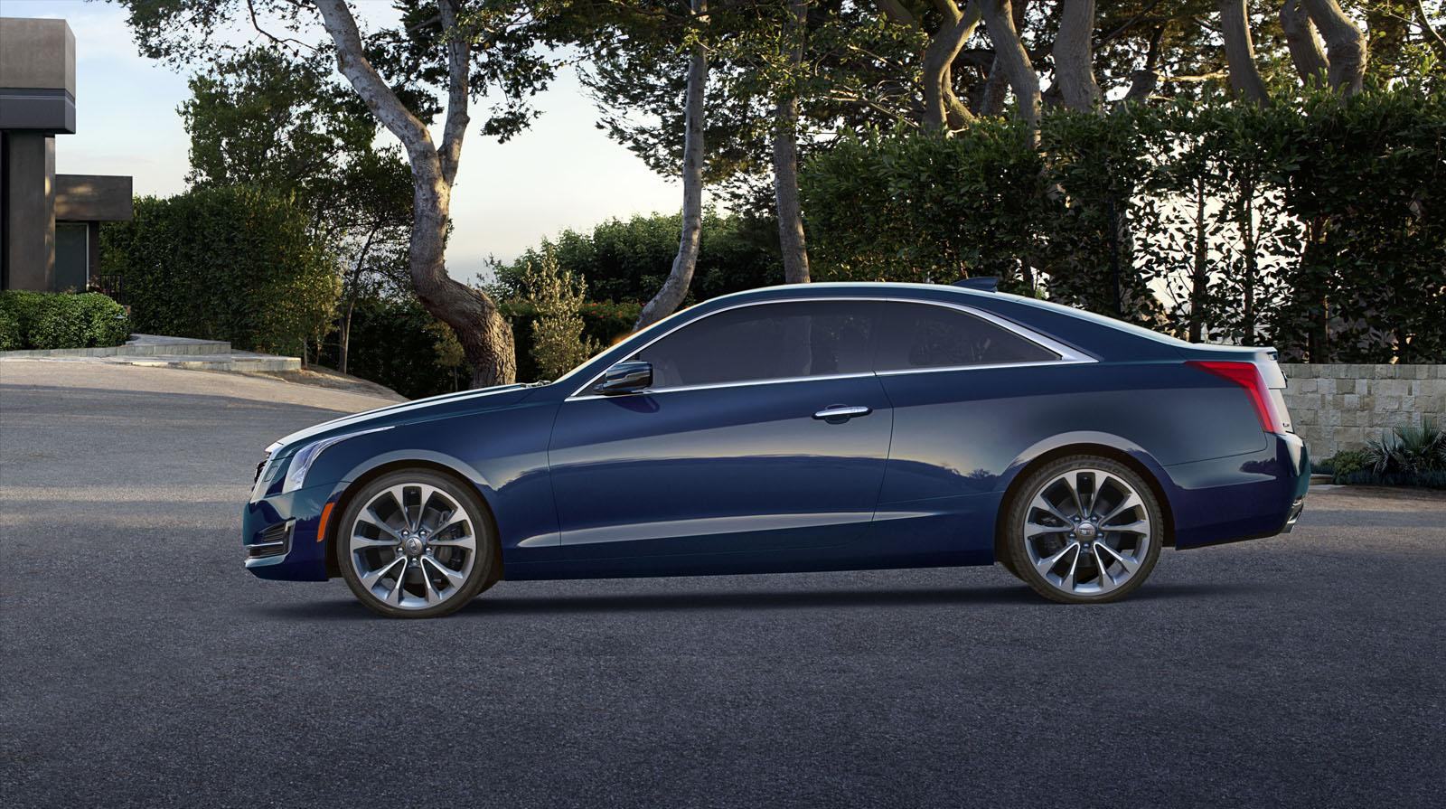 Cadillac ATS Coupe unveiled, new wreathless logo