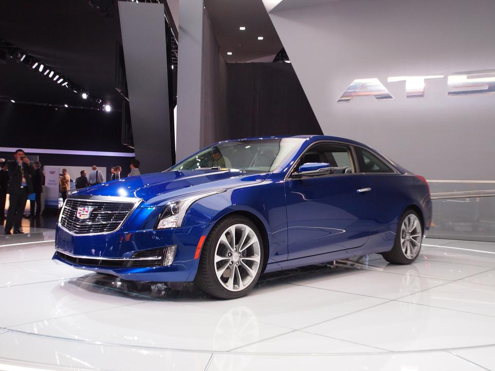 Cadillac Ats Coupe >> Cadillac ATS Coupe unveiled, new wreathless logo Paul Tan - Image 222273