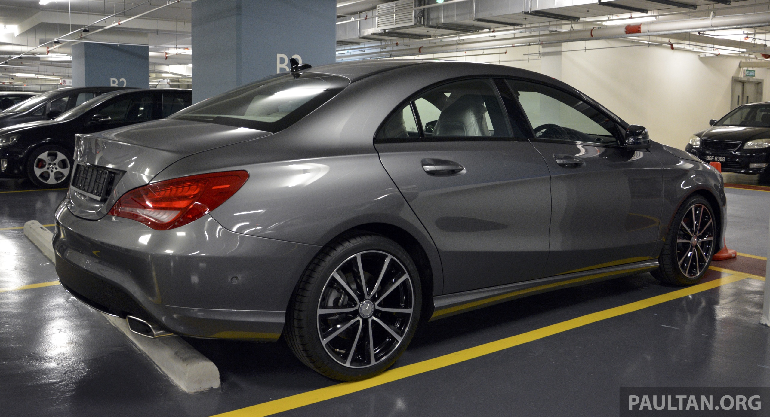 spied mercedes benz cla 200 a local spec unit image 222860. Black Bedroom Furniture Sets. Home Design Ideas