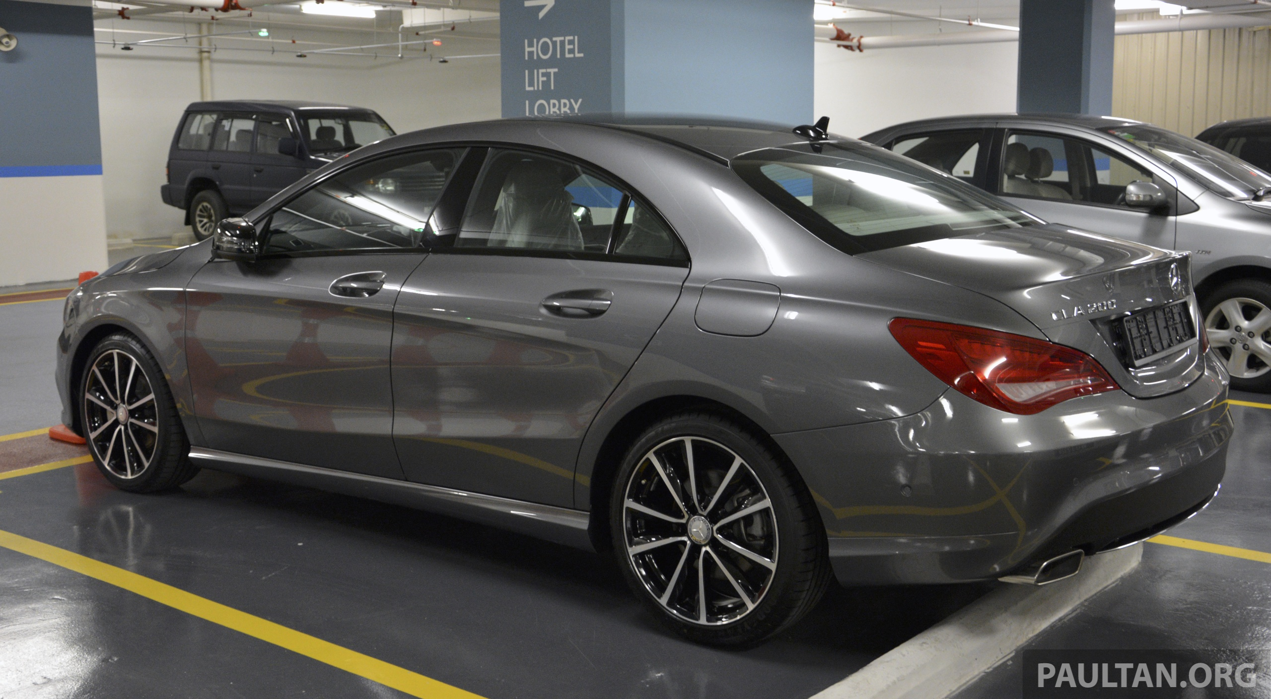 Mercedes Benz Cla >> SPIED: Mercedes-Benz CLA 200 – a local spec unit? Image 222875