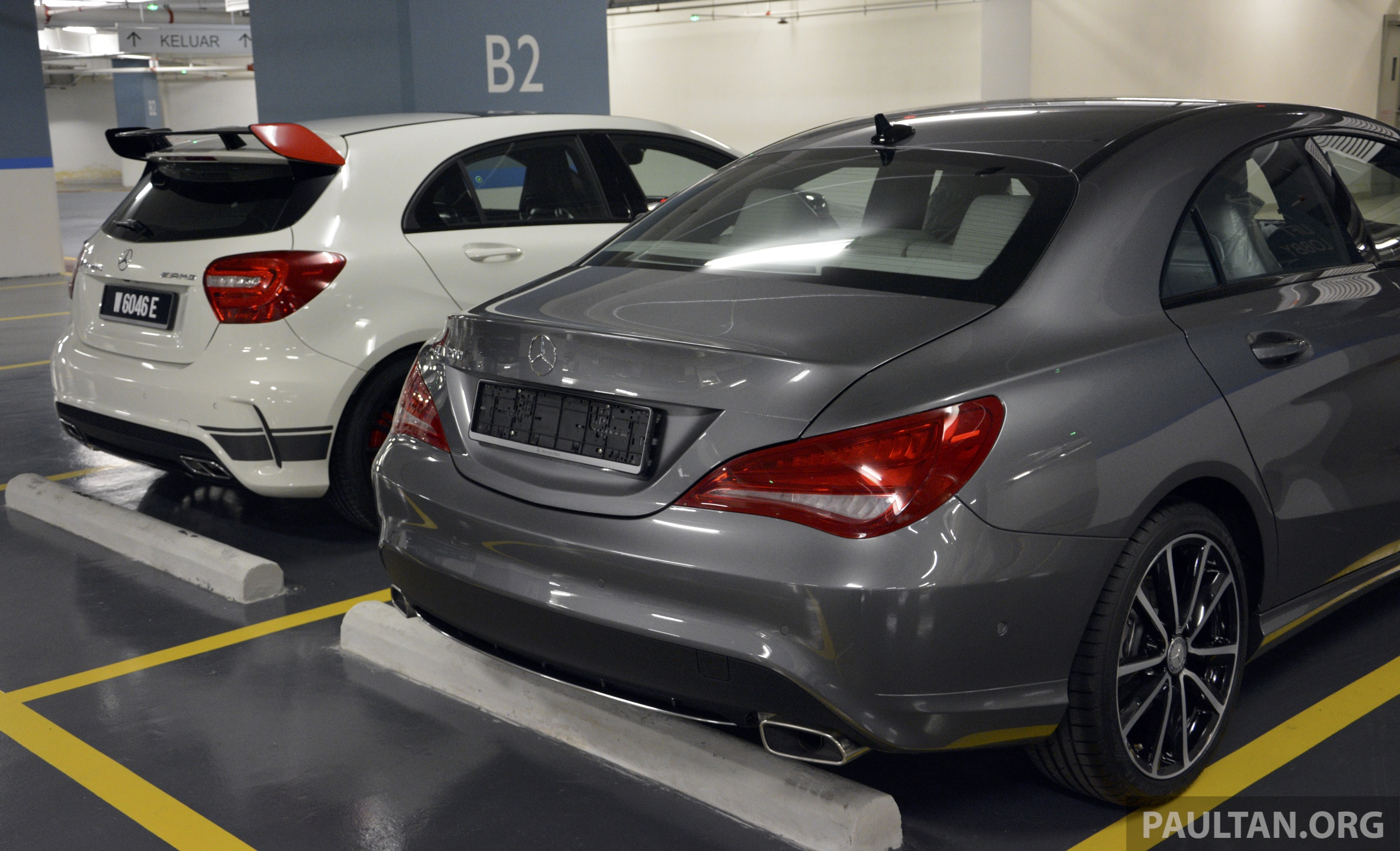 Spied Mercedes Benz Cla 200 A Local Spec Unit Image 222877