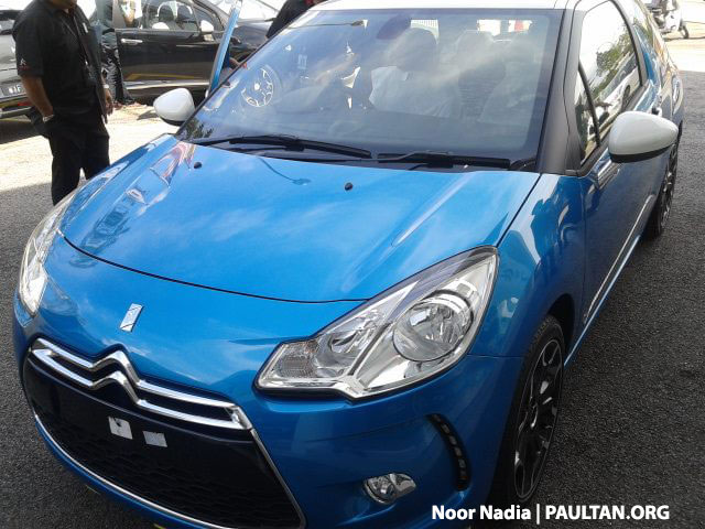 Citroen DS3 now in Malaysia, spied in Glenmarie Image #221723