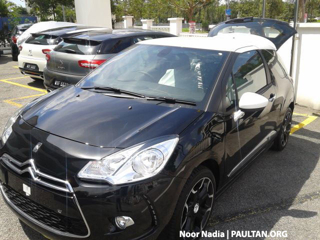 Citroen DS3 now in Malaysia, spied in Glenmarie Image #221725