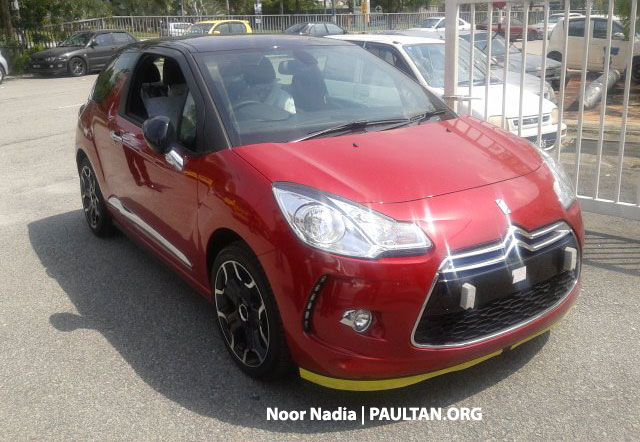 Citroen DS3 now in Malaysia, spied in Glenmarie Image #221727