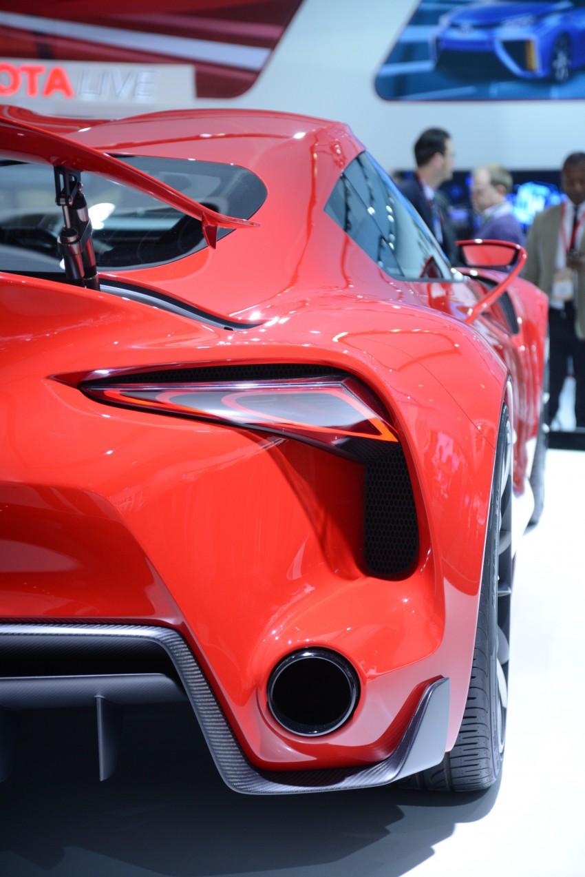 Toyota FT-1 concept shocks Detroit – the next Supra? Image #222252