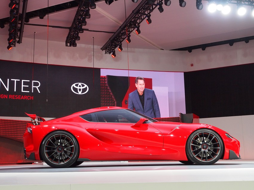 Toyota FT-1 concept shocks Detroit – the next Supra? Image #222254