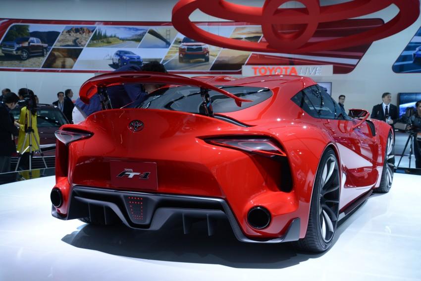 Toyota FT-1 concept shocks Detroit – the next Supra? Image #222256