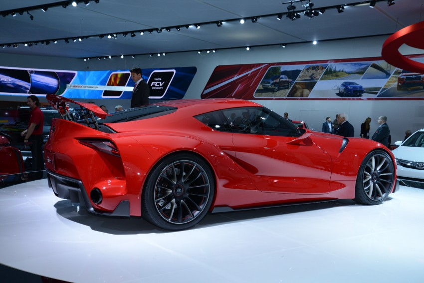 Toyota FT-1 concept shocks Detroit – the next Supra? Image #222257