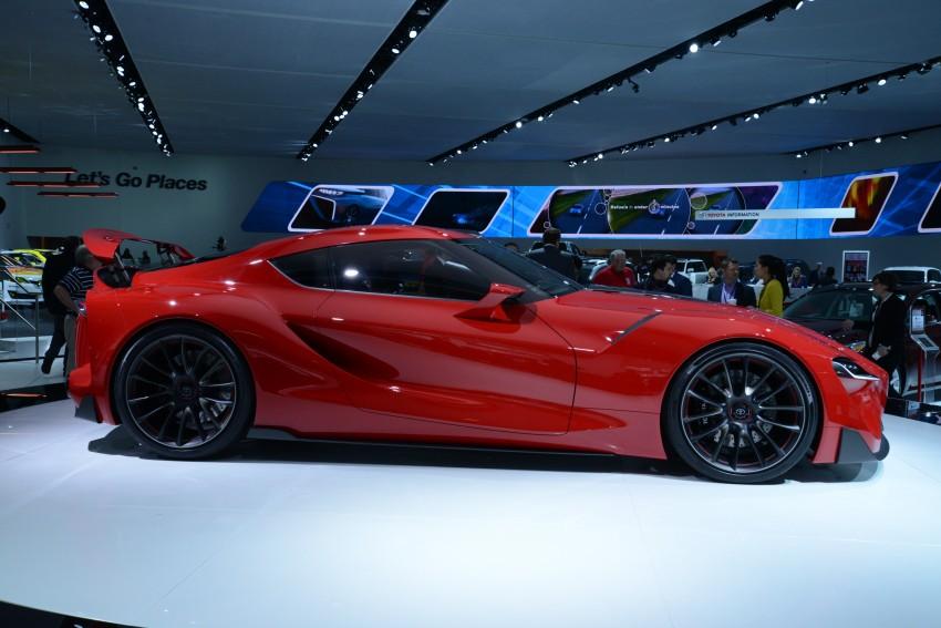 Toyota FT-1 concept shocks Detroit – the next Supra? Image #222258