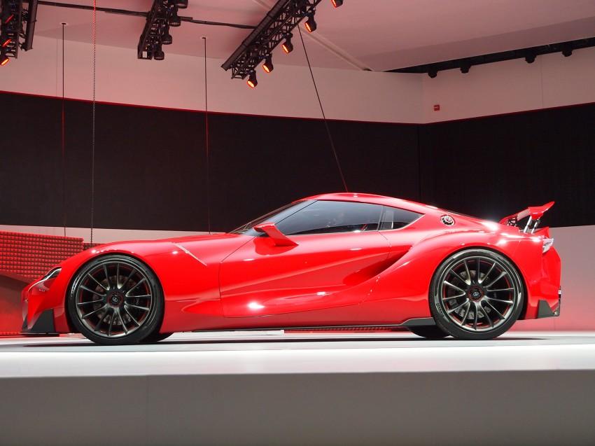 Toyota FT-1 concept shocks Detroit – the next Supra? Image #222261