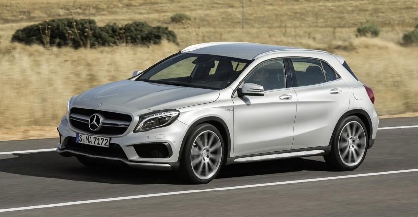 Mercedes-Benz GLA 45 AMG production car unveiled Image #221084