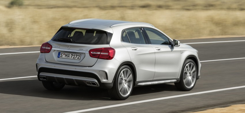 Mercedes-Benz GLA 45 AMG production car unveiled Image #221085