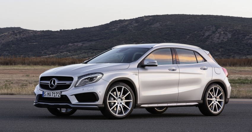 Mercedes-Benz GLA 45 AMG production car unveiled Image #221088