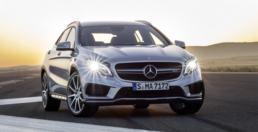 Mercedes-Benz GLA 45 AMG production car unveiled Image #221090