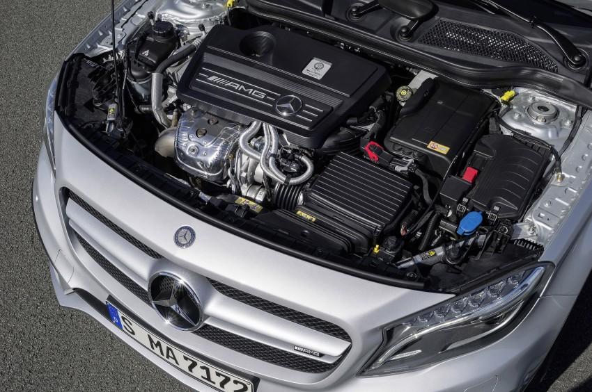 Mercedes-Benz GLA 45 AMG production car unveiled Image #221092