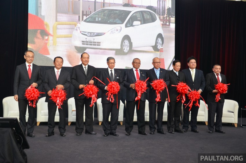 Honda Malaysia opens No. 2 Line for small and hybrid cars at Pegoh plant to double production capacity Image #222670