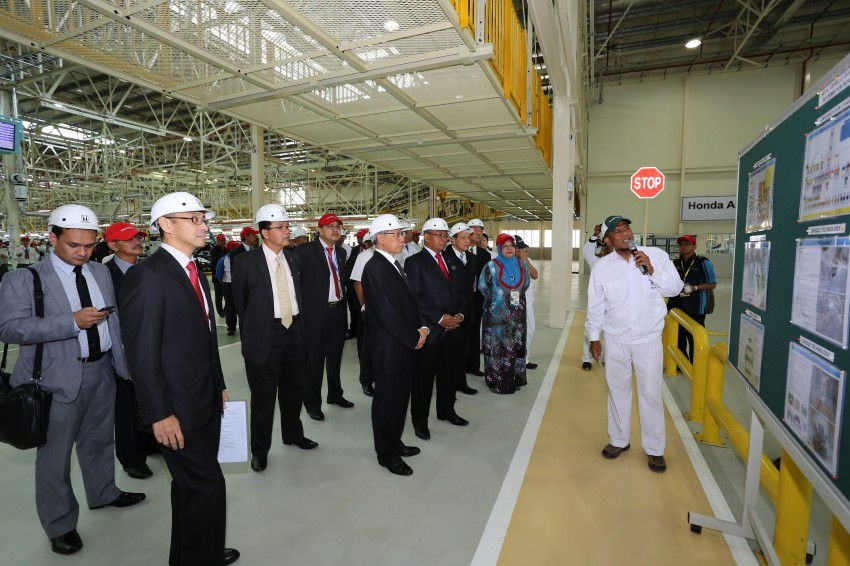 Honda Malaysia opens No. 2 Line for small and hybrid cars at Pegoh plant to double production capacity Image #222663