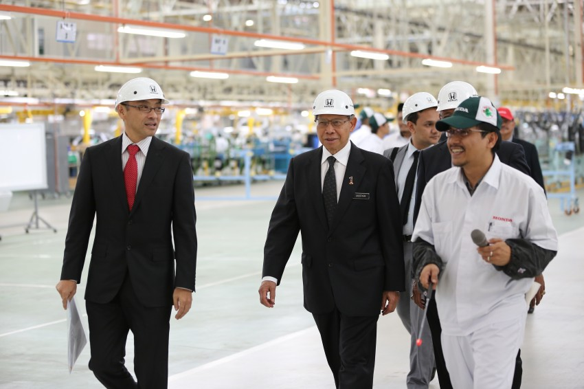Honda Malaysia opens No. 2 Line for small and hybrid cars at Pegoh plant to double production capacity Image #222664