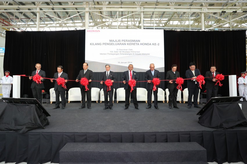 Honda Malaysia opens No. 2 Line for small and hybrid cars at Pegoh plant to double production capacity Image #222666