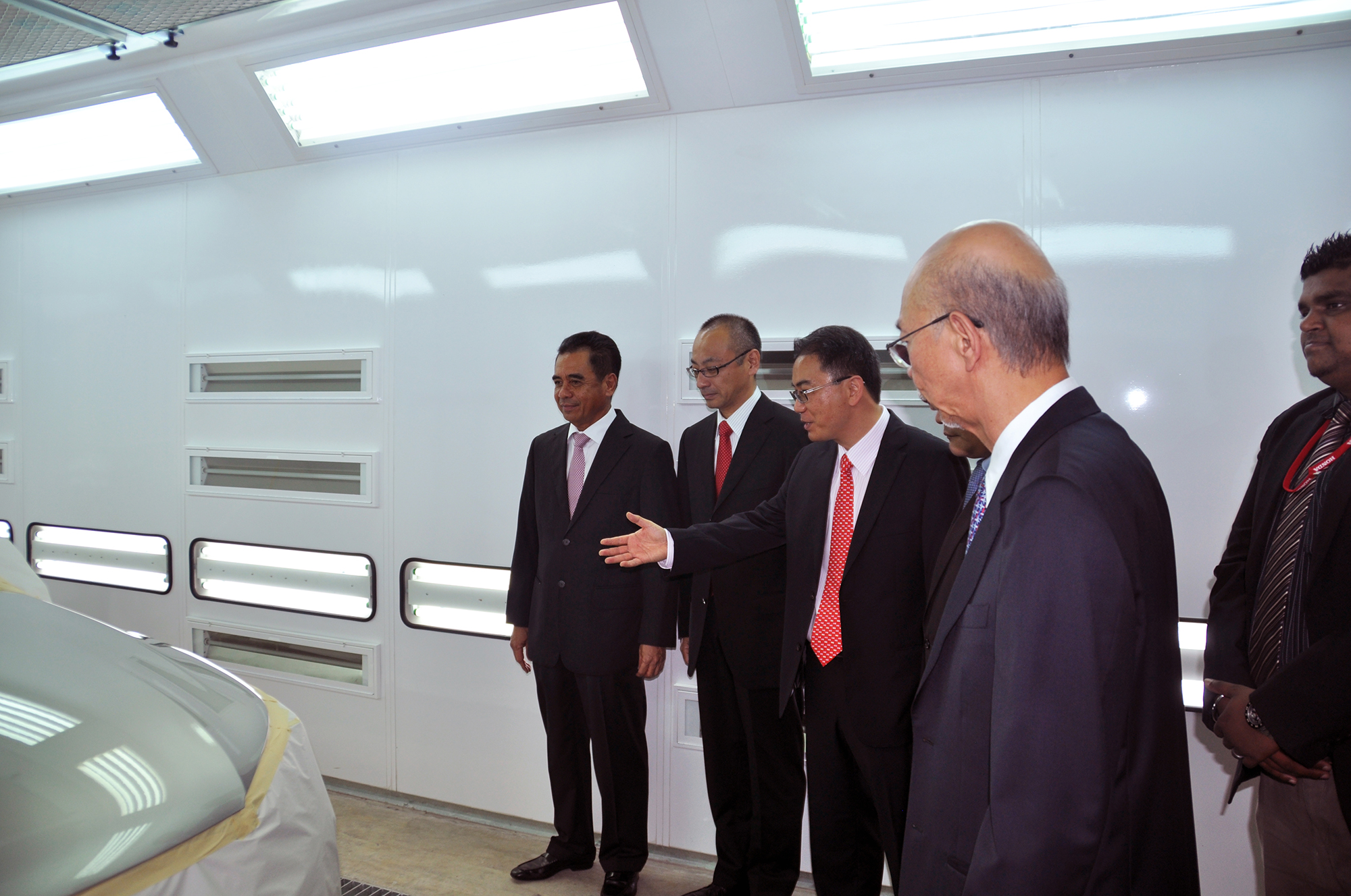 honda opens its first body paint centre in east coast paul