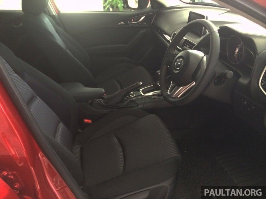 GALLERY: 2014 Mazda 3 CBU in Glenmarie showroom Image #224352