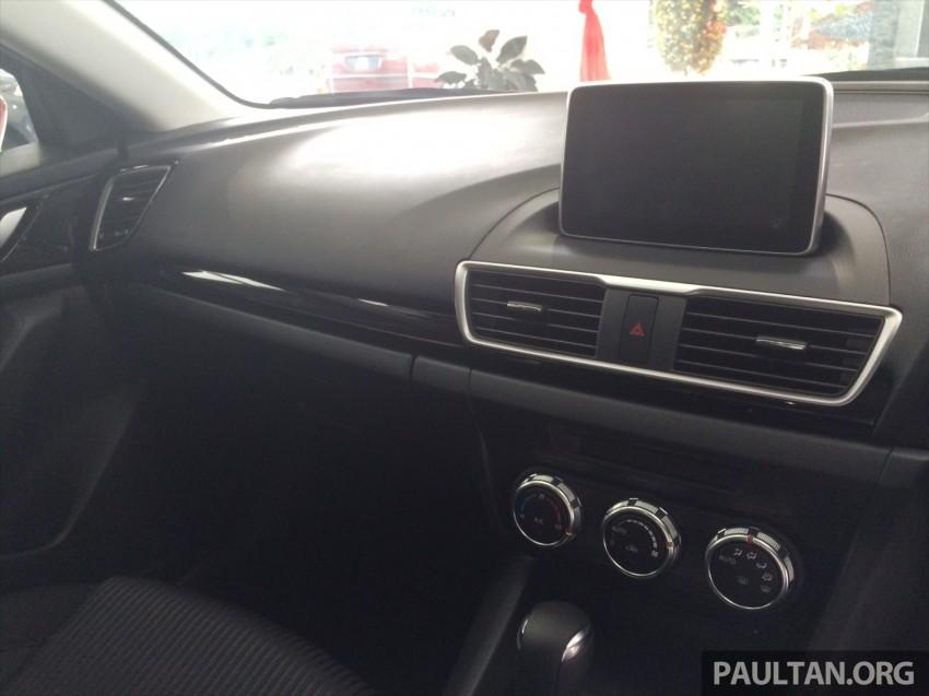 GALLERY: 2014 Mazda 3 CBU in Glenmarie showroom Image #224356