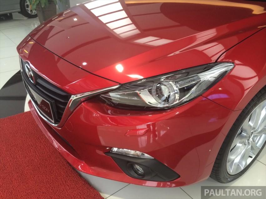 GALLERY: 2014 Mazda 3 CBU in Glenmarie showroom Image #224344