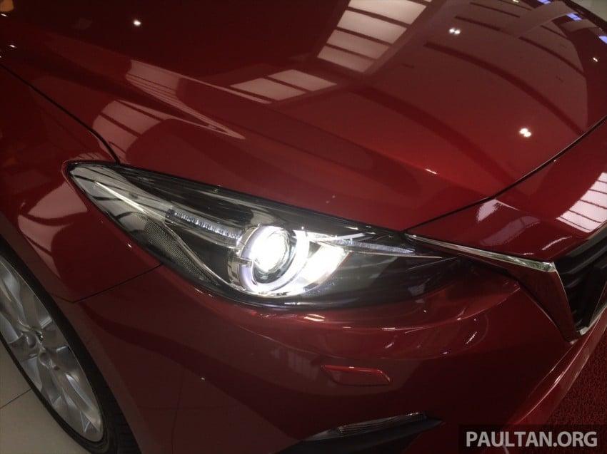 GALLERY: 2014 Mazda 3 CBU in Glenmarie showroom Image #224341