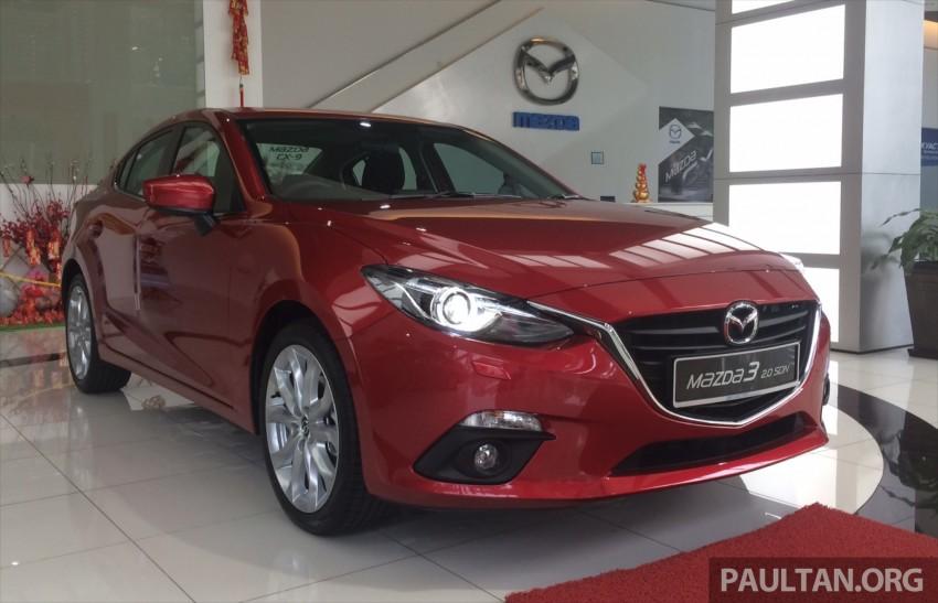 GALLERY: 2014 Mazda 3 CBU in Glenmarie showroom Image #224326