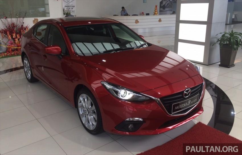 GALLERY: 2014 Mazda 3 CBU in Glenmarie showroom Image #224327