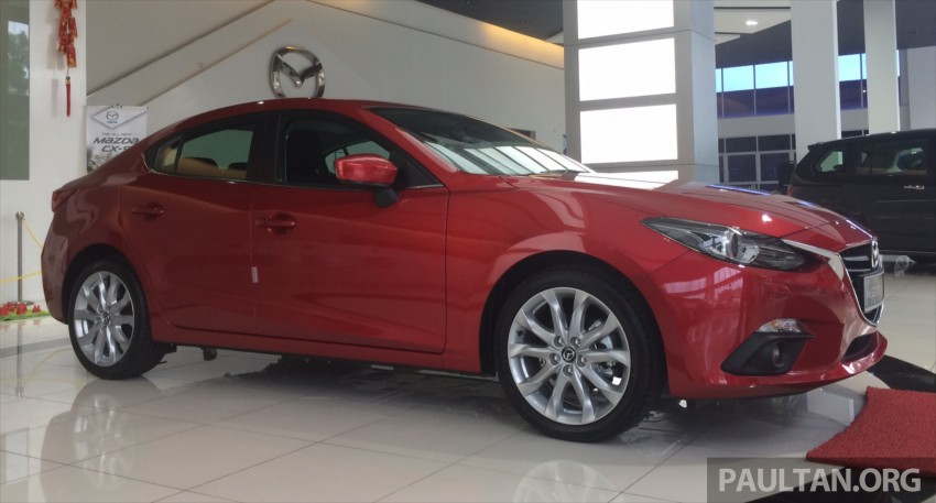 GALLERY: 2014 Mazda 3 CBU in Glenmarie showroom Image #224361