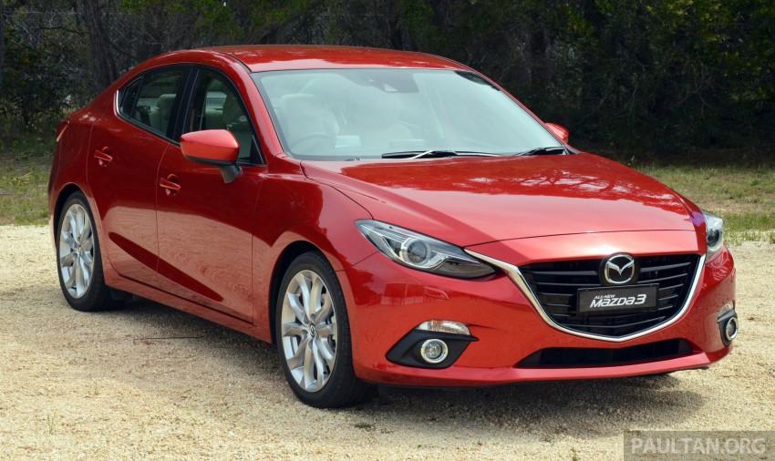 CBU Mazda 3 Sedan estimated specs & price unveiled Image #221627