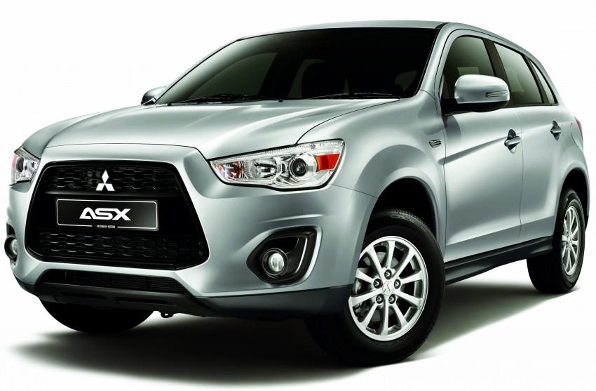 Mitsubishi ASX CKD bookings open, RM114k-129k Image #220070