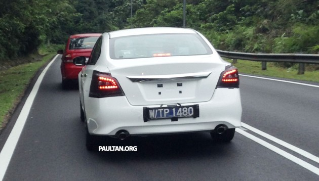 SPYSHOTS: Nissan Teana sighted near Sungai Choh
