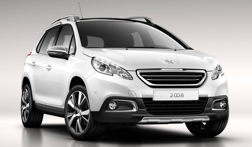 DRIVEN: Peugeot 2008 crossover in Alsace, France Image #259839