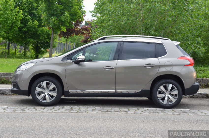 DRIVEN: Peugeot 2008 crossover in Alsace, France Image #220385