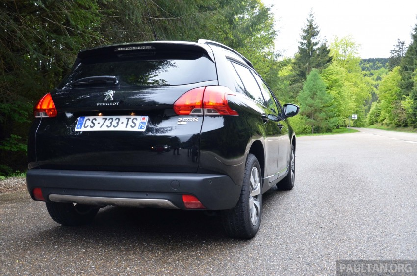 DRIVEN: Peugeot 2008 crossover in Alsace, France Image #220392